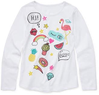 Arizona Long Sleeve Graphic Tee - Girls' 4-16 & Plus