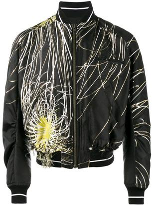Haider Ackermann embroidered bomber jacket $3,729 thestylecure.com