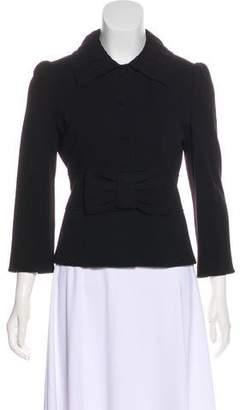 Diane von Furstenberg Wool Button-Up Short Coat