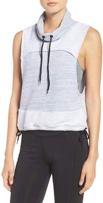 Free People MOVEMENT 'Wrap It Up' Funnel Neck Vest