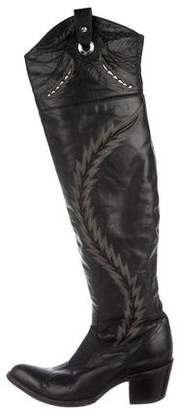 Old Gringo Leather Over-The-Knee Boots