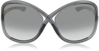 Tom Ford WHITNEY FT009 B5 Oversized Soft Round Sunglasses