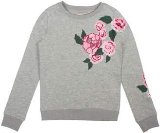 Hudson Floral Embroidered Pullover