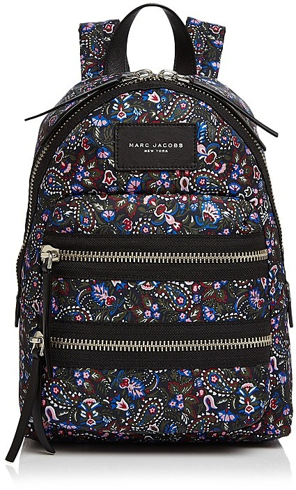Marc Jacobs MARC JACOBS Biker Floral Mini Nylon Backpack
