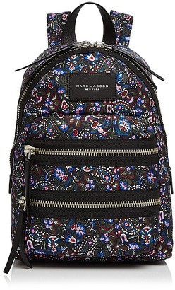 MARC JACOBS Biker Floral Mini Nylon Backpack $220 thestylecure.com