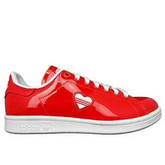 quality design b31a2 65fb9 adidas Womenss Stan Smith W Low-Top Sneakers, Footwear WhiteActive Red 0