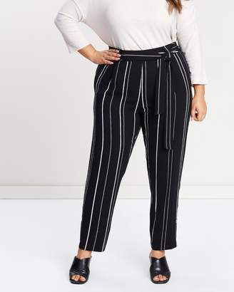 Evans Stripe Tapered Pants