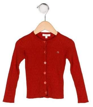 Gucci Girls' Rib Knit Cardigan