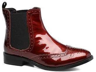 at eBay Fashion Outlet Dune London Women's Quentin Ankle Boots in Burgundy