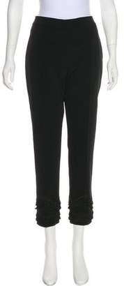 Yigal Azrouel Cropped Straight-Leg Pants