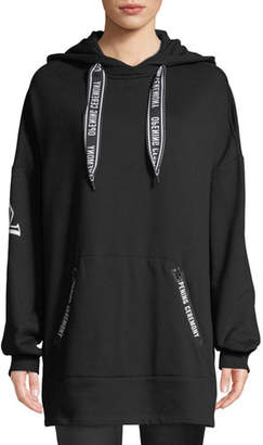 Opening Ceremony Logo Pullover Poncho Hoodie