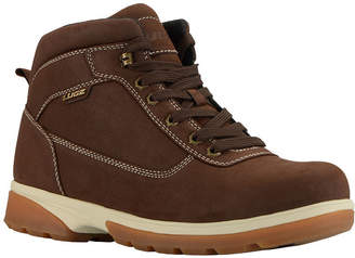 Lugz Mens Zeolite Mid Water Resistant Slip Resistant Insulated Work Boots Lace-up