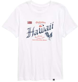 Quiksilver Hawaii Rooster Graphic T-Shirt