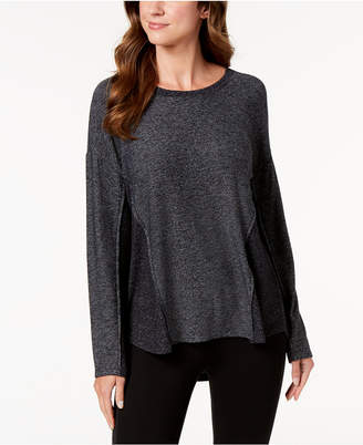 Style&Co. Style & Co Colorblocked Marled Top