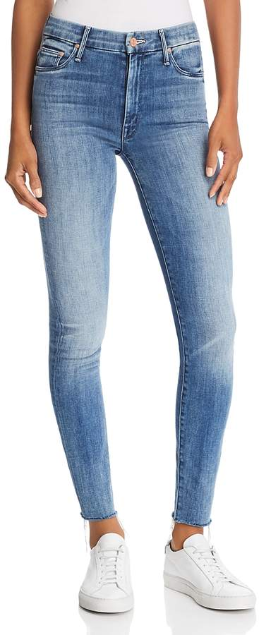 Looker High-Rise Ankle Fray Skinny Jeans in Everything We Keep