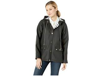 Calvin Klein Snap Front Jacket with Hood