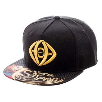 Bioworld Doctor Strange Metallic Eye Sublimated Snapback Ball Cap Hat