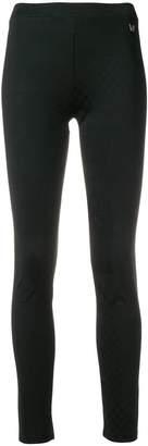 Versace logo plaque leggings