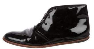 Opening Ceremony Patent Leather Desert Boots
