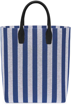 Mansur Gavriel North South Tote in Blu White | FWRD