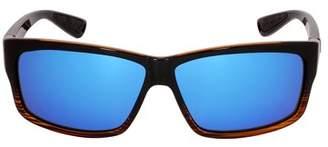 Costa del Mar Costa Cut Plastic Frame Blue Mirror Lens Men's Sunglasses UT52OBMGLP