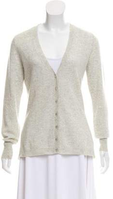 Magaschoni Fluted Cashmere Cardigan