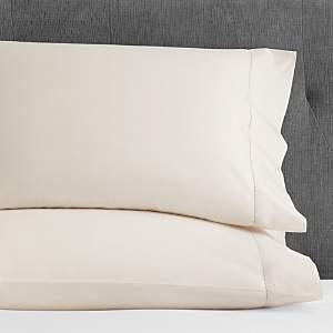 Hudson Park Collection Hudson Park 600TC Sateen Solid King Pillowcase, Pair - 100% Exclusive