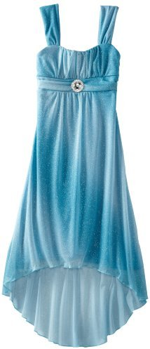 Ruby Rox Kids Girls 7-16 High Low Glitter Dress