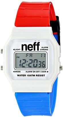 Neff Unisex NF0226RDWB Flava XL Surf Digital Display Chinese Automatic Two Tone Watch