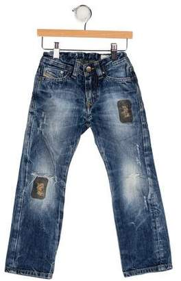 Diesel Boys' Five Pocket Jeans