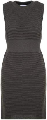 Moschino Ribbed-knit Lurex Dress