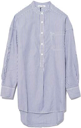 Alex Mill Popover Tunic Bi Stripes in Royal Blue/White