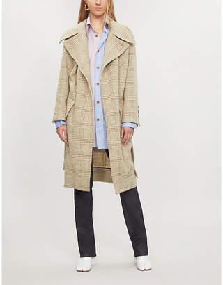 Vivienne Westwood Wilma checked wool coat