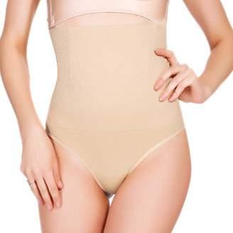 2c01f1fe51 Ggpyy Women Butt Lifter Shapewear Hi-Waist Tummy Slimmer Thong Panty  Seamless Body Shaper Shorts