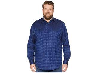 Robert Graham Big Tall Harris Shirt (Blue