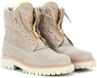 Taiga suede boots