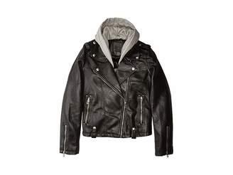 257b7dc32e40 Kids Cotton Moto Jacket - ShopStyle