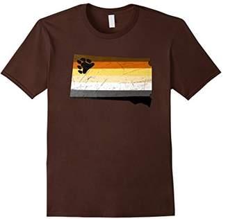 Dakota South Bear Pride Flag T-Shirt