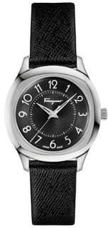 Salvatore Ferragamo Time Logo Stainless Steel Strap Watch