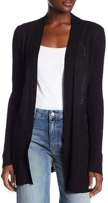 Cable & Gauge Ribbed Sleeve Cardigan