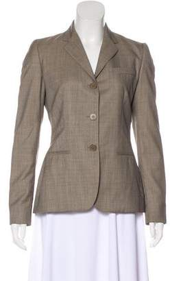 Ralph Lauren Black Label Wool Structured Blazer