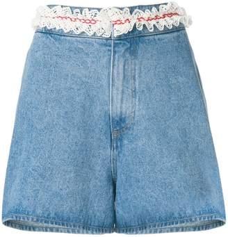 Jour/Né froufrou denim shorts