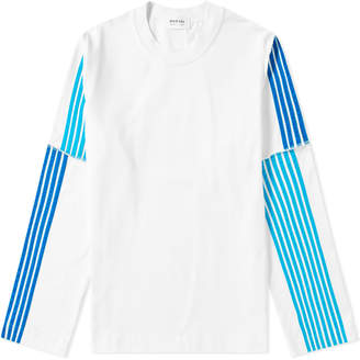 Dima Leu DIMA LEU Long Sleeve Stripe Jersey Tee