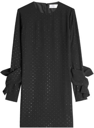 Victoria Beckham Victoria Embellished Twist Sleeve Dress