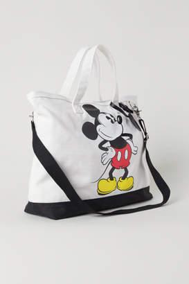 H&M Bag with Motif - White