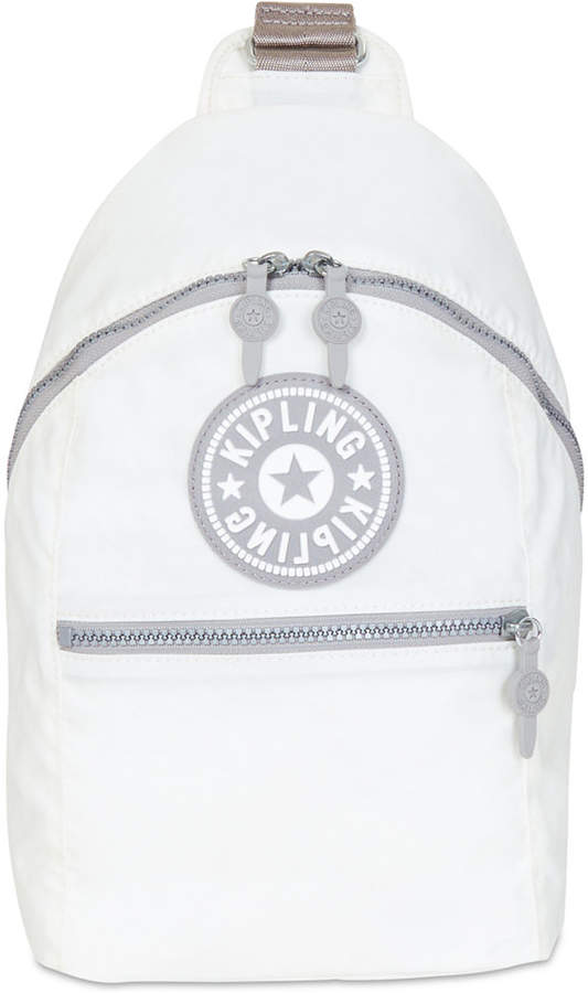 Kipling Bente Mini Backpack - LACQUER BLACK/SILVER - STYLE