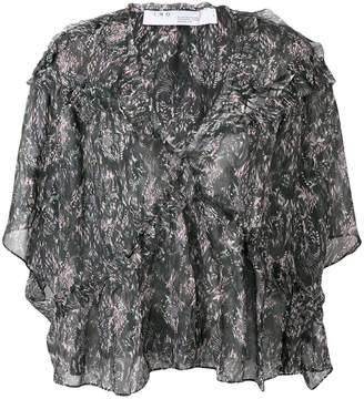 IRO Date ruffle blouse