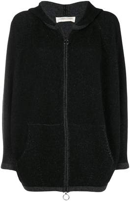 Lamberto Losani hooded fleece jumper