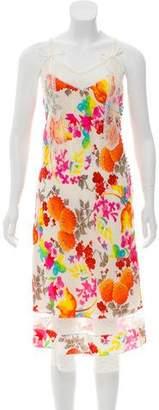 Christian Dior Silk Floral Dress