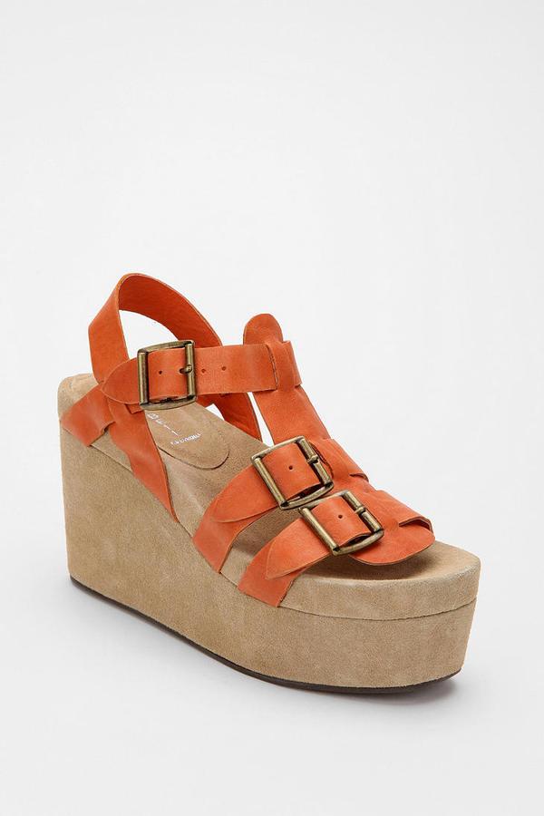 Jeffrey Campbell Douma Platform Wedge Sandal